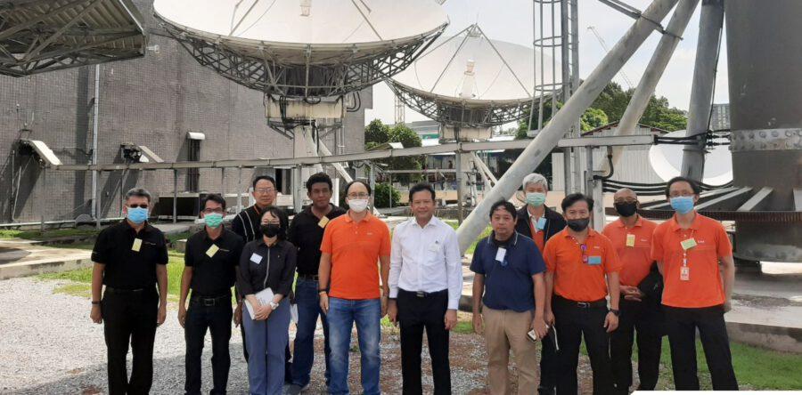 CAT Satcom เข้าร่วมฝึกอบรมดาวเทียมสื่อสารภายในประเทศ ระยะที่ 2